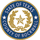 County of Rockwall Seal